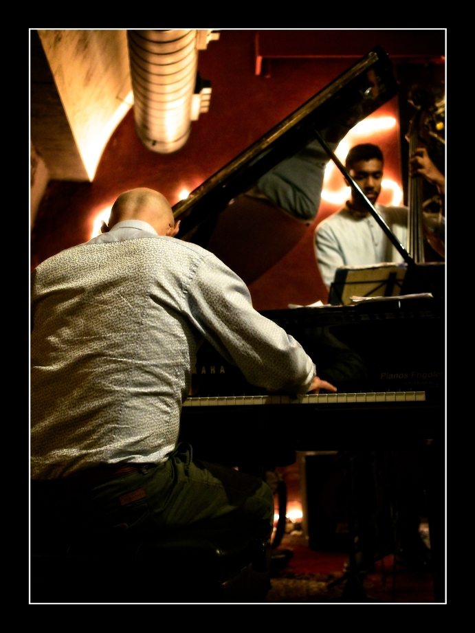 Laurent Coq Trio at Sunset Jazz Club Girona